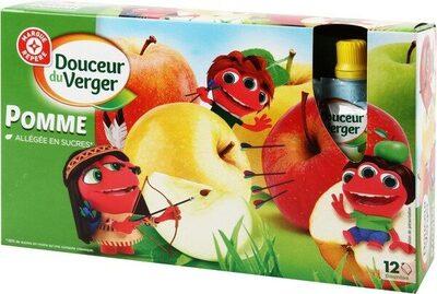 Compotes gourdes pomme allégées - Produit