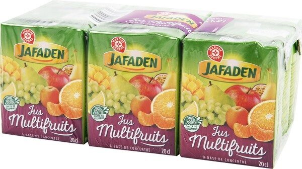 Jus multifruits à base de concentré - Produit - fr