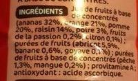 Jus multifruits abc - Ingrediënten
