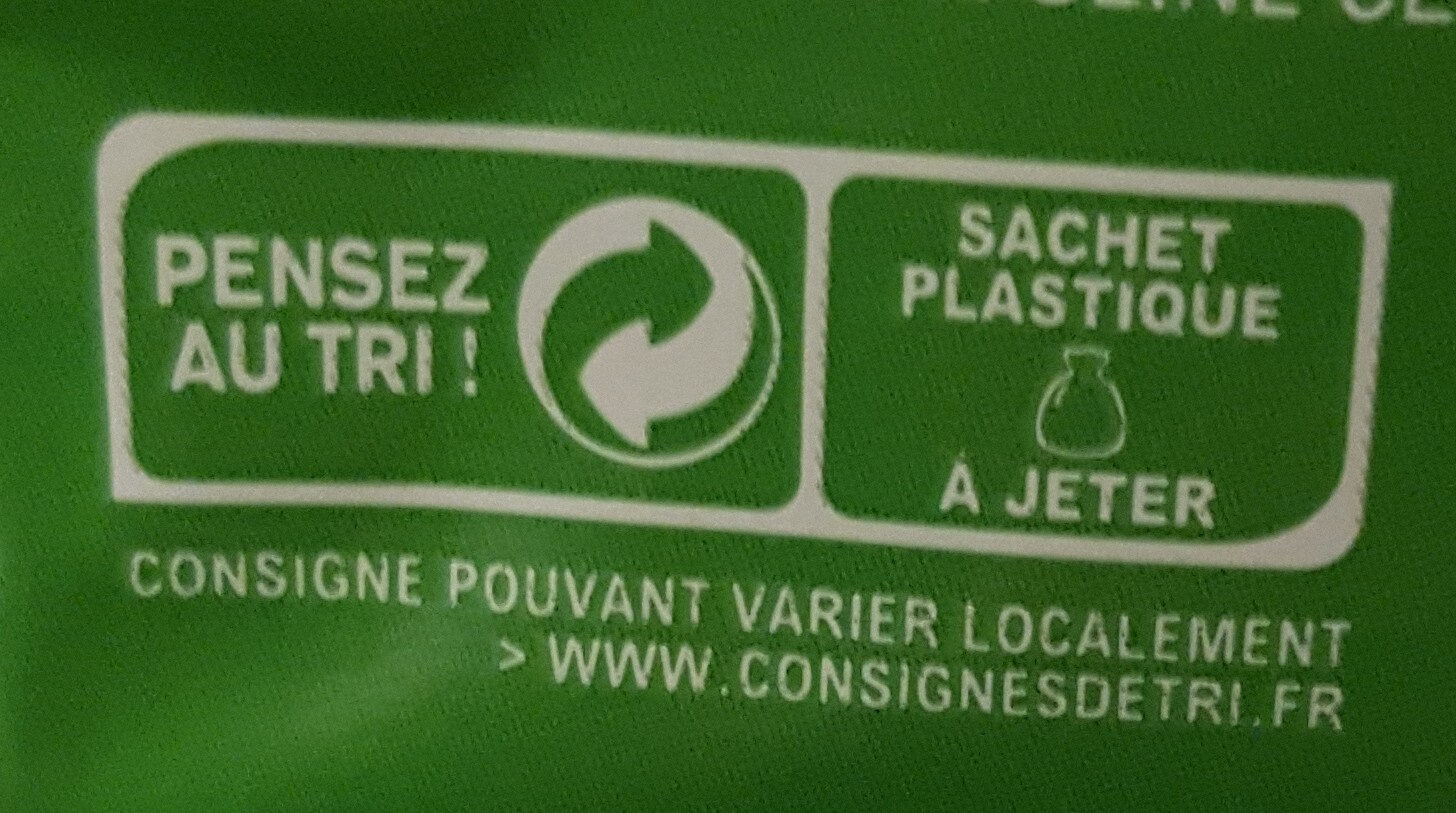 Grignot'goût cacahuete - Recycling instructions and/or packaging information - fr
