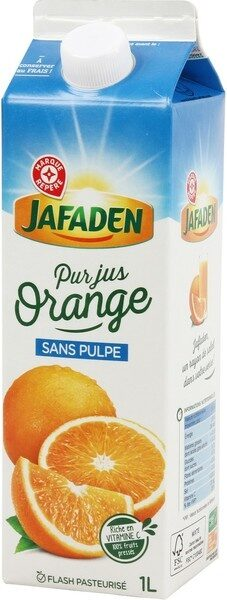 Pur jus d'orange sans pulple - Product - fr