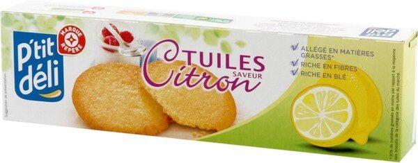 Tuiles citron - Produit