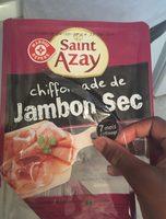 Chiffonade de Jambon sec - Produit