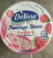 Fromage blanc framboise - Producto