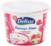 Fromage frais framboise 5,5%mg - Producto
