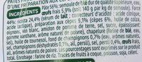 Demi-lunes cèpes - Ingrediënten