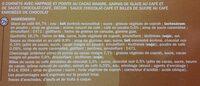 Cônes café x 6 - Ingredients