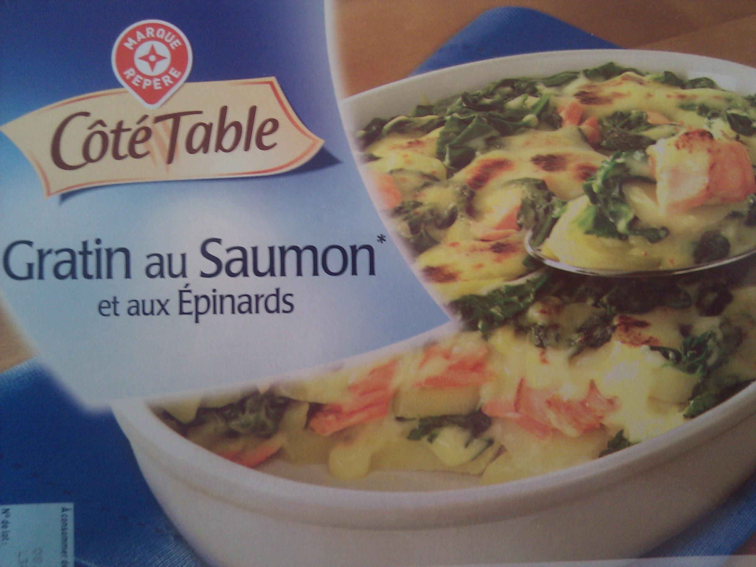 Gratin de saumon épinards pomme de terre - Produit