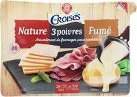 Assortiment raclette 3 fromages - Produit - fr