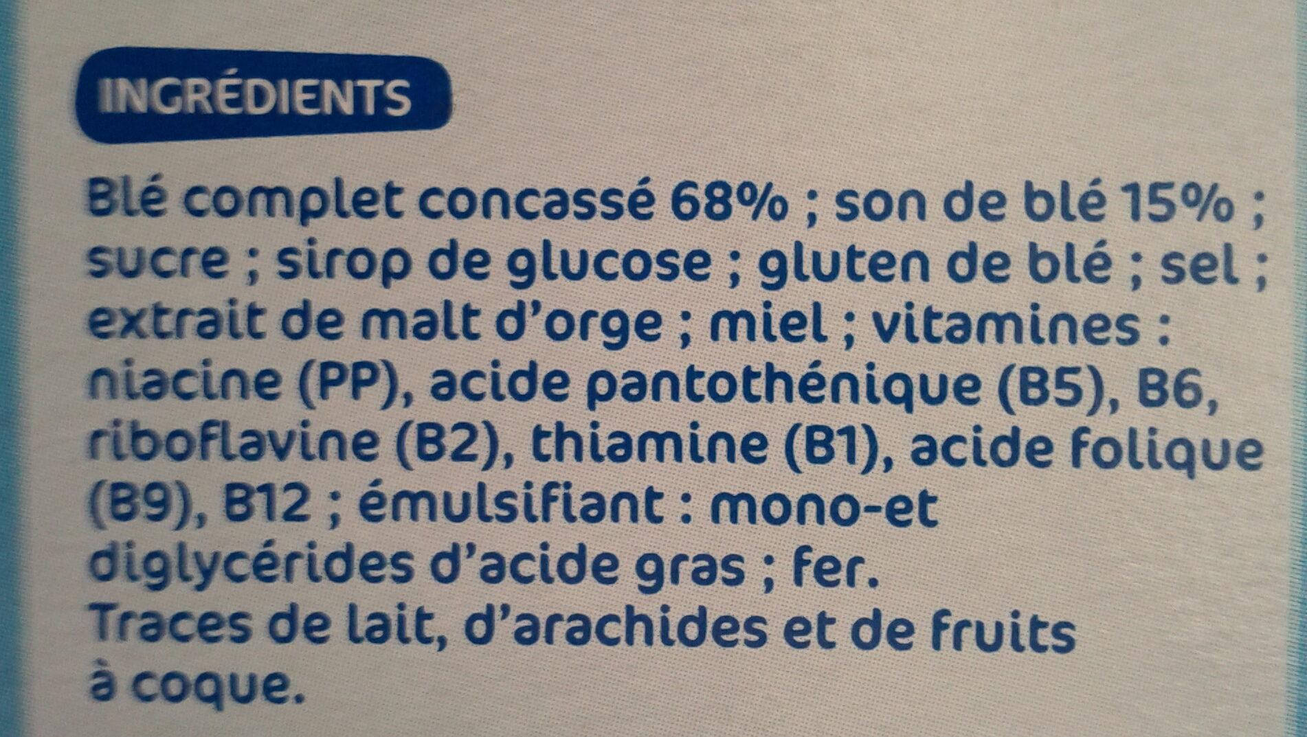 Bran'form nature - Ingredients - fr
