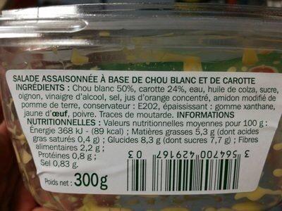 Coleslaw - Produit - fr