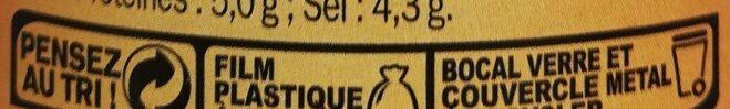 Moutarde Mi-forte - Instruction de recyclage et/ou information d'emballage - fr