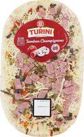 Pizza Jambon Champignons - Product - fr