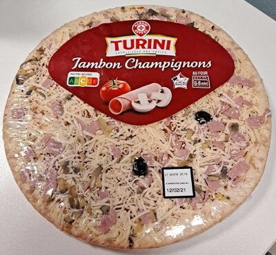 Pizza jambon champignon - Produit - fr