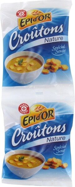 Croûtons nature 2 x 90 g - Product - fr