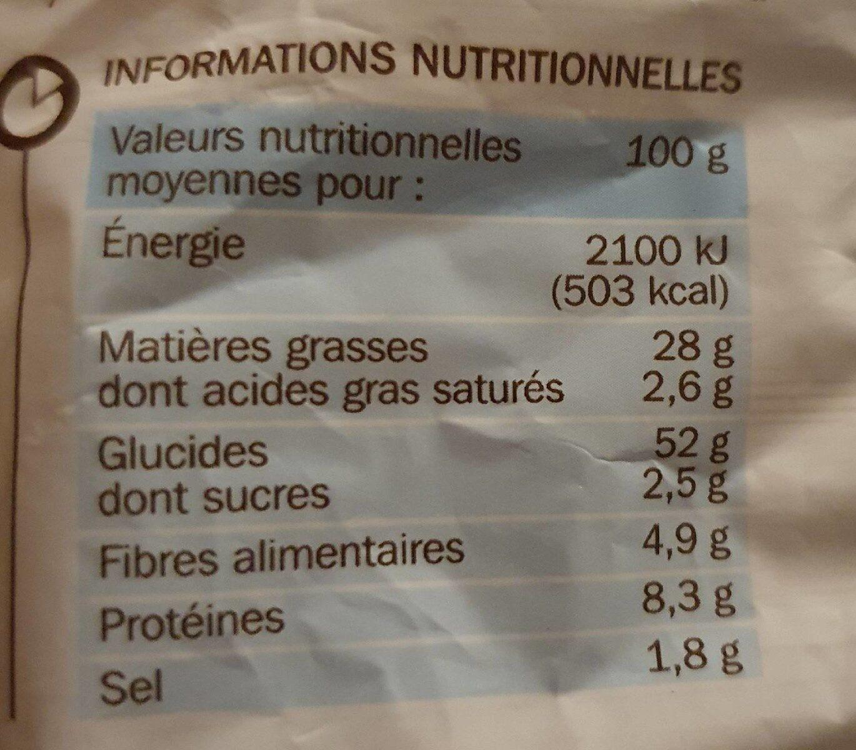 Croûtons nature 2 x 90 g - Voedingswaarden - fr
