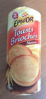 Toasts briochés - Product