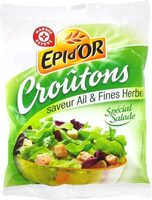 Croutons salade ail et fines herbes - Product - fr