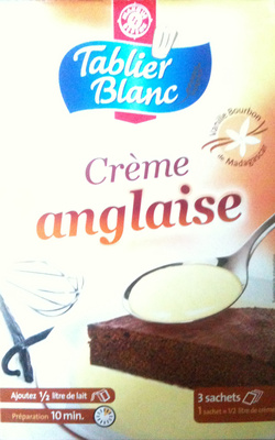 Crème Anglaise (Vanille Bourbon de Madagascar) - Product - fr