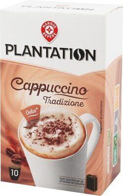 Cappuccino nature 10 sticks 140 g + poudreuse 7 g - Produit - fr