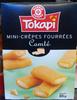 Mini crêpes fourrées fromage - Product