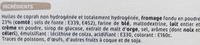 Petites crêpes fourrées saveur comté - Ingrediënten - fr