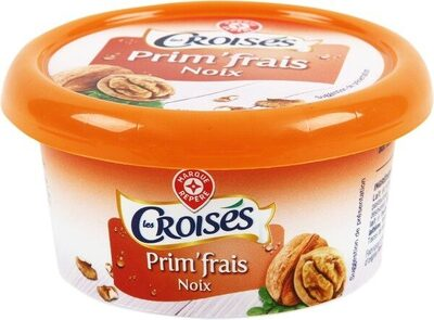 Fromage à tartiner noix 25% - Product - fr