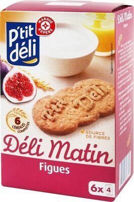 Biscuits petit déjeuner à la figue - Produit - fr
