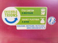 Biscuits petit déjeuner à la figue - Instruction de recyclage et/ou information d'emballage - fr