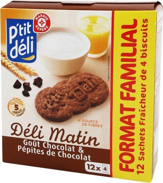 Biscuits chocolat céréales - Product - fr