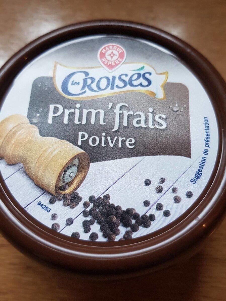 Fromage à tartiner poivre 25% - Produit - fr
