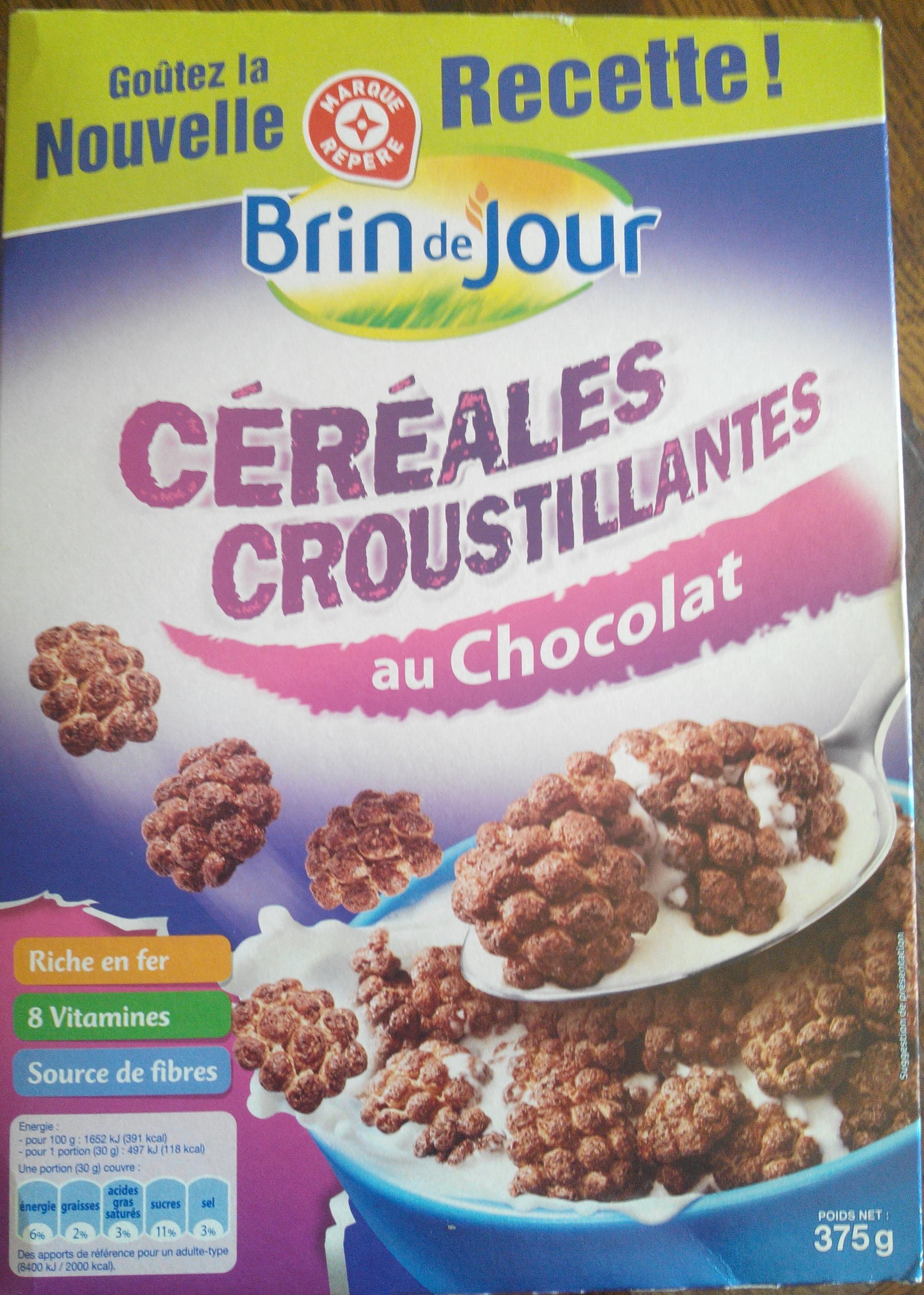 Céréales Croustillantes au chocolat - Produit - fr