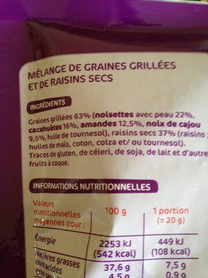 Mix apero gourmand - Ingredients