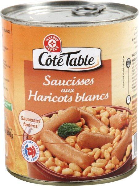 Saucisses aux haricots blancs - Product - fr