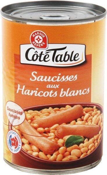 Saucisses aux haricots blancs 1/2 boite - Product - fr