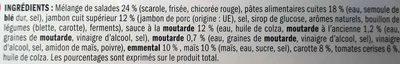 Côté Snack La campagnarde jambon emmental - Ingrédients - fr