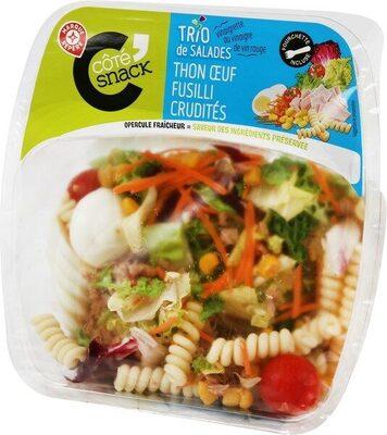 Salade thon fusilli crudités - Product - fr