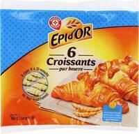 Croissants pur beurre x6 - Product - fr