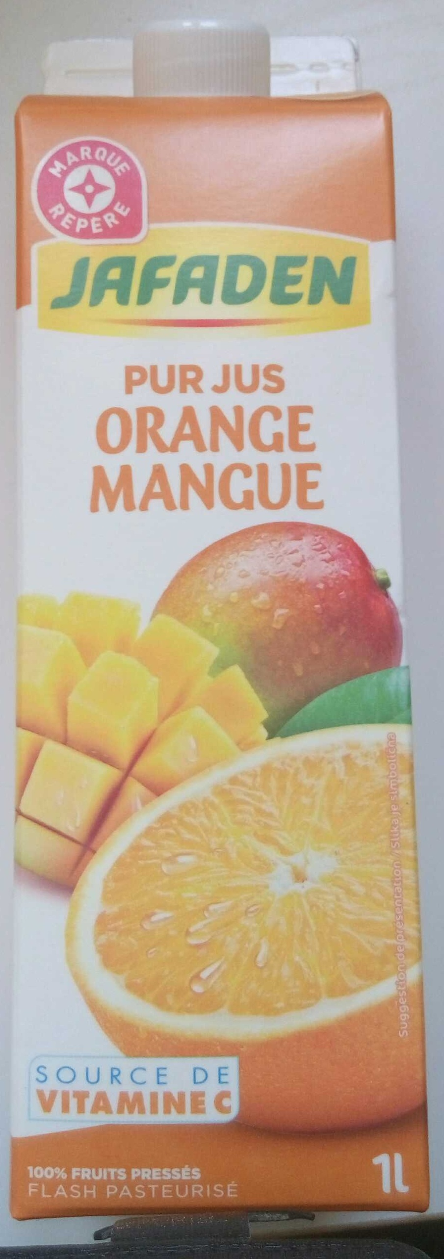 Pur jus Orange Mangue - Product - fr