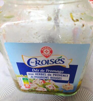 Dés de fromage au lait de vache pasteurisé dans l'huile 29% Mat. Gr. - Prodotto