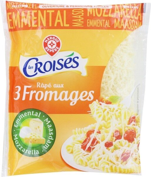 Rapé aux 3 fromages 27 % Mat.Gr. - Product - fr