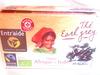 Thé Earl Grey origine Afrique et Inde Bio (20 sachets) - Produit