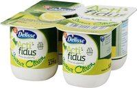 Lait fermenté au bifidus saveur citron acti-fidus - Produit