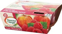 Compote pomme framboise - Product