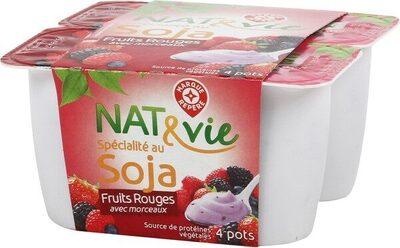 Spécialité au soja fruit rouge - Product