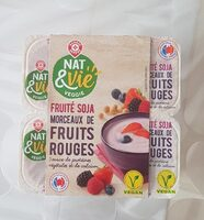 Spécialité au soja fruit rouge - Prodotto - fr