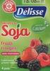 Spécialité au Soja fruits rouges avec morceaux - Product