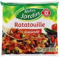 Ratatouille cuisinée portion surgelée - Product