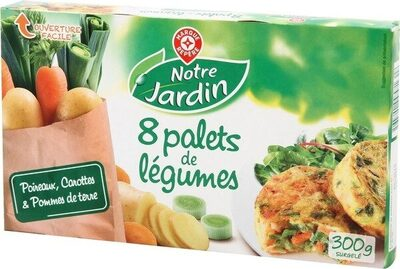 Palets de légumes poireaux carottes pommes de terre x 8 - Produit