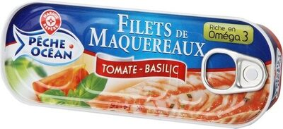 Filets maquereaux tomate/basilic - Product